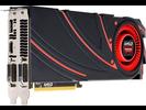 Syv Radeon R9 280X-grafikkort, opsummeret