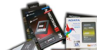 Aika p�ivitt��: vertailussa 10 SSD-asemaa 240 - 256 gigatavun kapasiteetilla