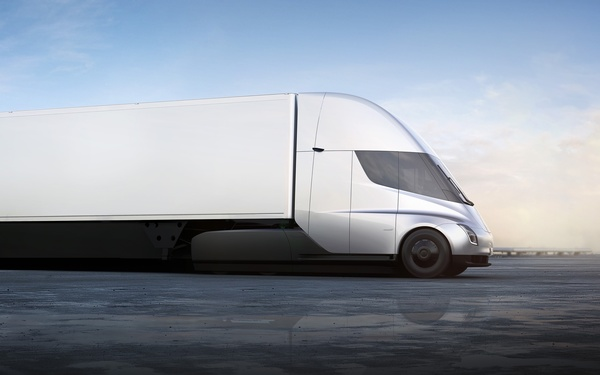 Tesla unveils two new vehicles, electric semi and super-fast new Roadster