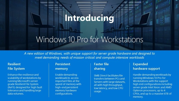 """Microsoft announces a new edition of Windows 10 - aimed for """"real pro"""" users"""