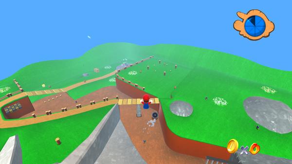 Click here to play Super Mario 64 in HD