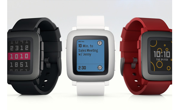 New color screen smartwatch Pebble Time shatters Kickstarter records