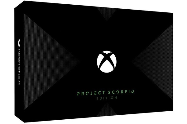 Xbox One X Scorpio Edition available for pre-order