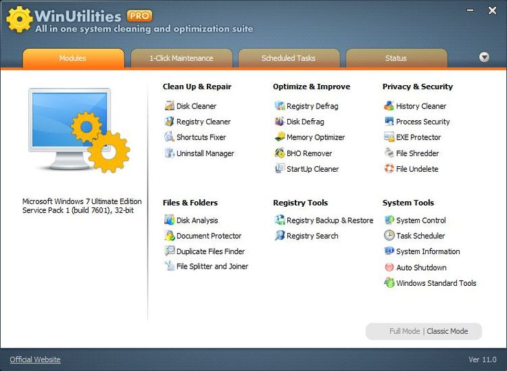 Winutilities pro v10 33 multilingual incl keymaker core