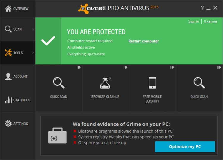 Avast pro av. is v8.0.10 included 100working keygen 2017