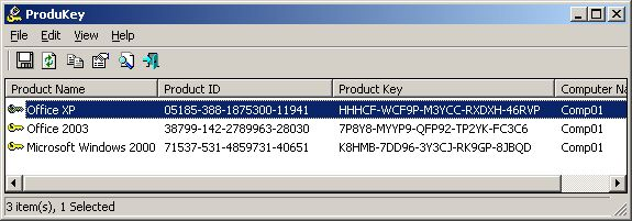 Download NirSoft ProduKey (64-bit) v1.88 (freeware ...