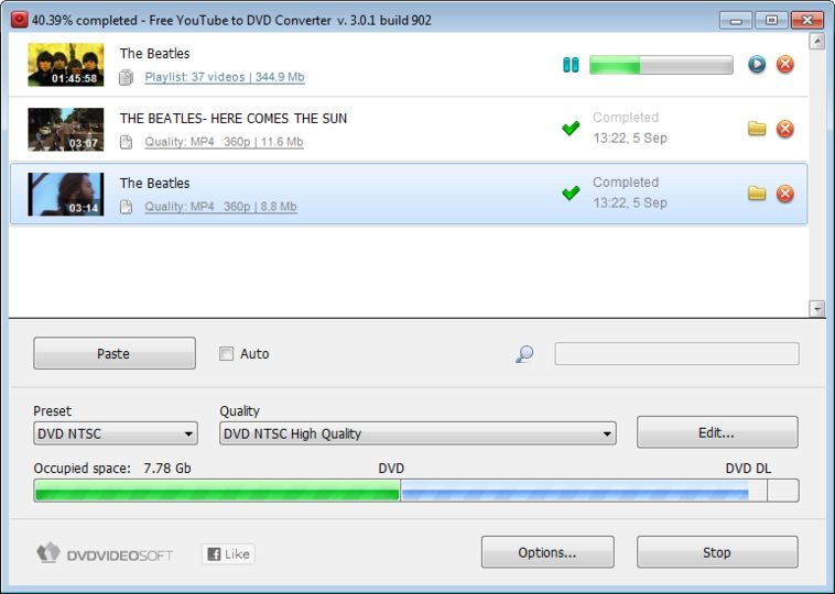 Download Free YouTube to DVD Converter v3.1.103.829