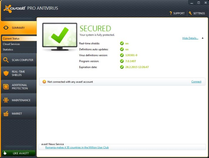 Avast download free