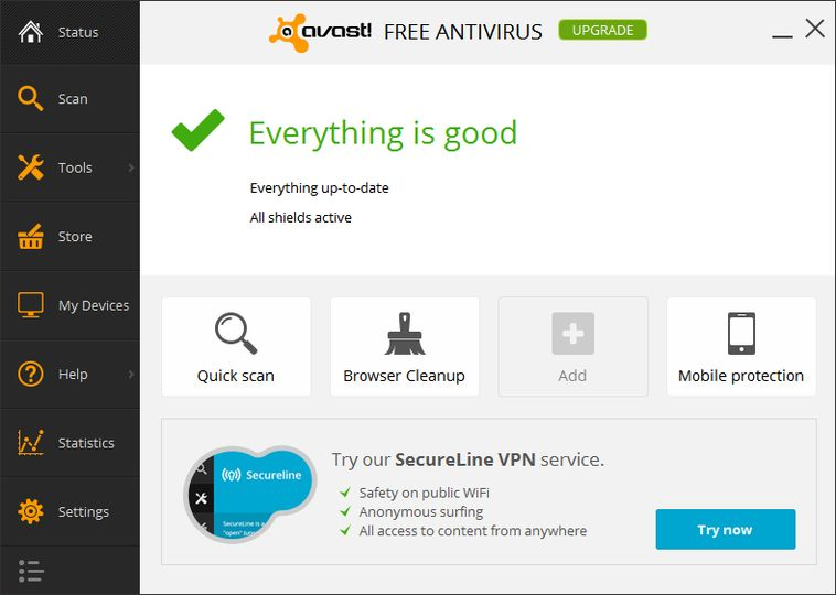 Download Avast Free Antivirus v17.4.2294 (freeware ...