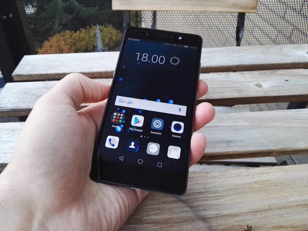 Arvostelu: Huawei Honor 7