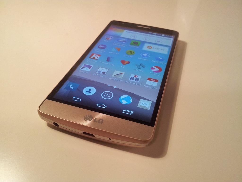 Arvostelu: LG G3 s
