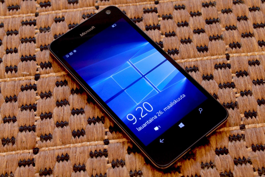 Arvostelu: Microsoft Lumia 650