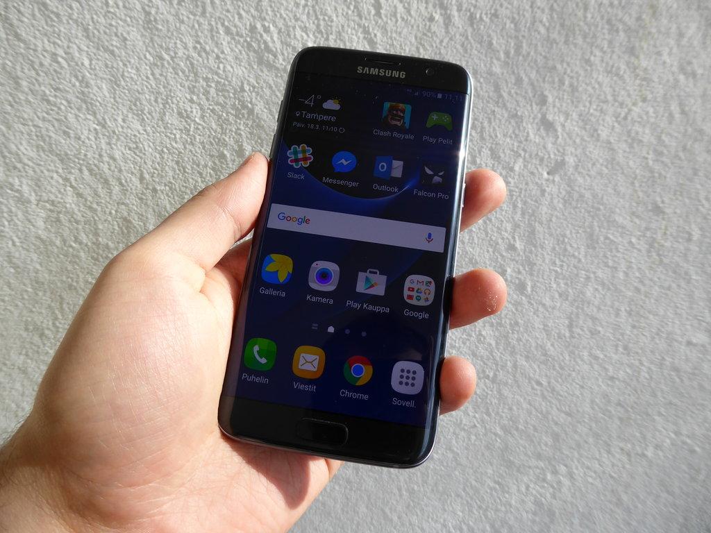 Arvostelu: Samsung Galaxy S7 edge