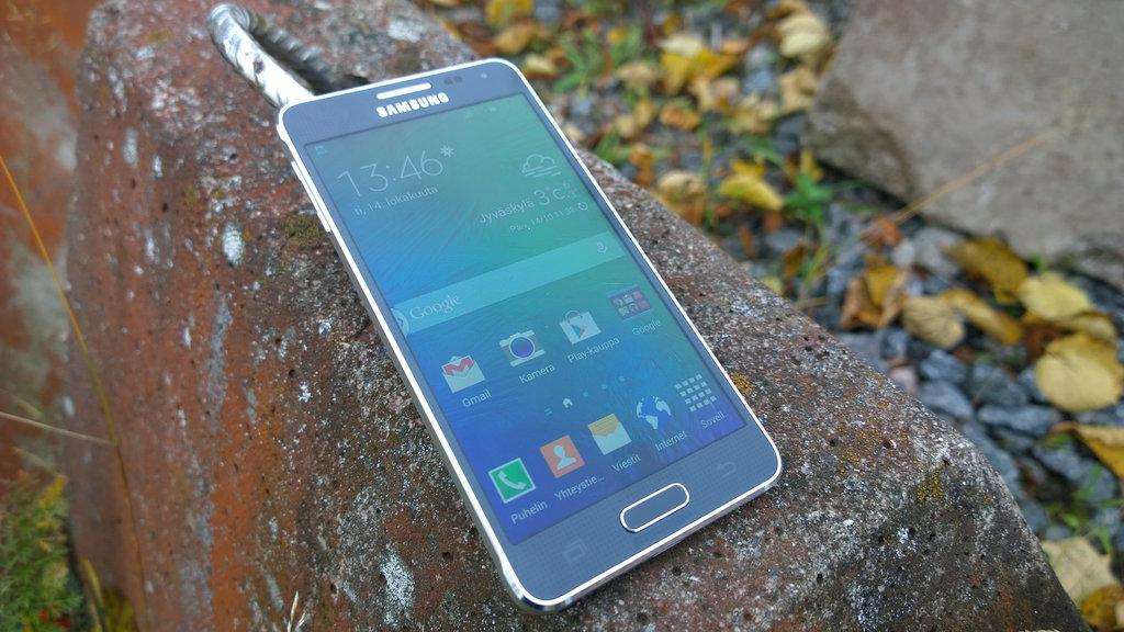 Arvostelu: Samsung Galaxy Alpha
