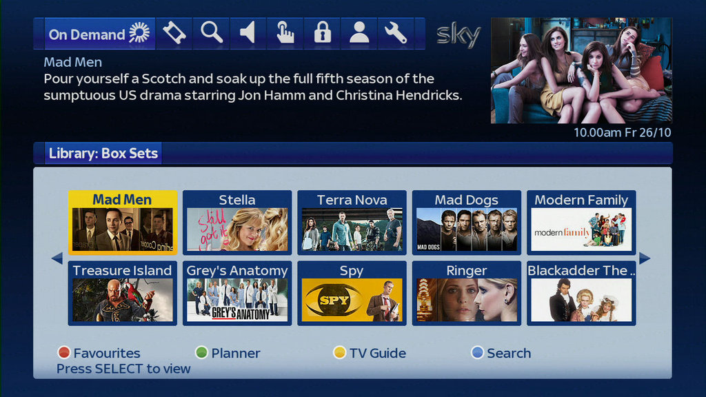 Bbc iplayer comes to sky no really afterdawn for Channel 10 living room catch up