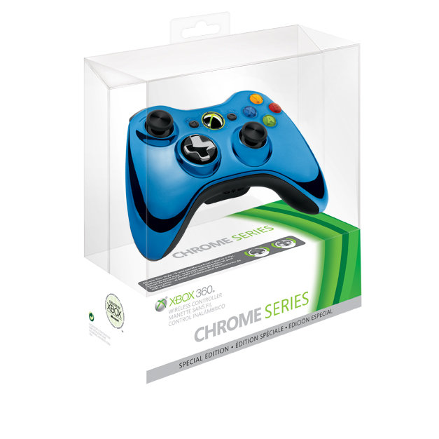 Introducing the Xbox 360 special edition Chrome seriesXbox 360 Controller Chrome Series
