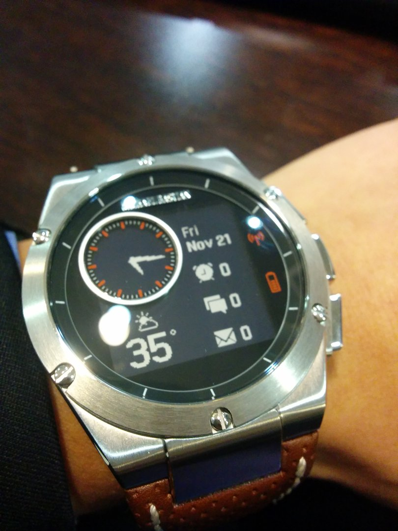 Review: The MB Chronowing smartwatch is the first with ...