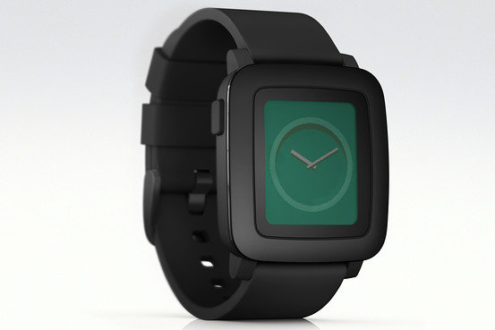 New color screen smartwatch Pebble Time shatters ...