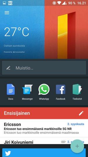 OnePlus 3 - shelf-n�kym�