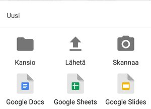 Google Drive - Skannaa