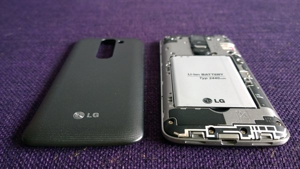 LG G2 Mini back cover off