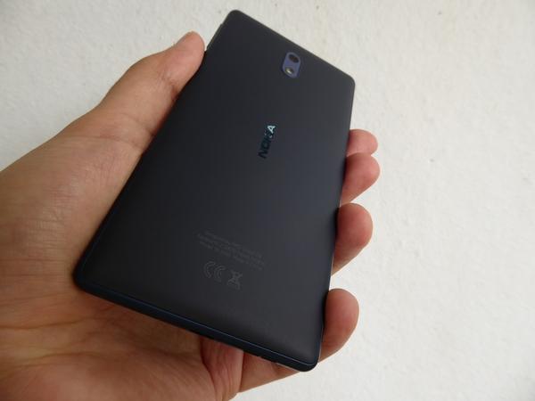 Nokia 3 - ulkonäkö