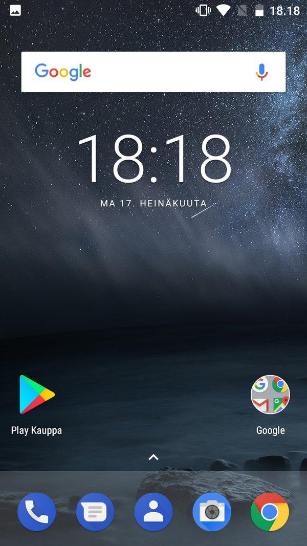 Nokia 3 - kuvakaappaus