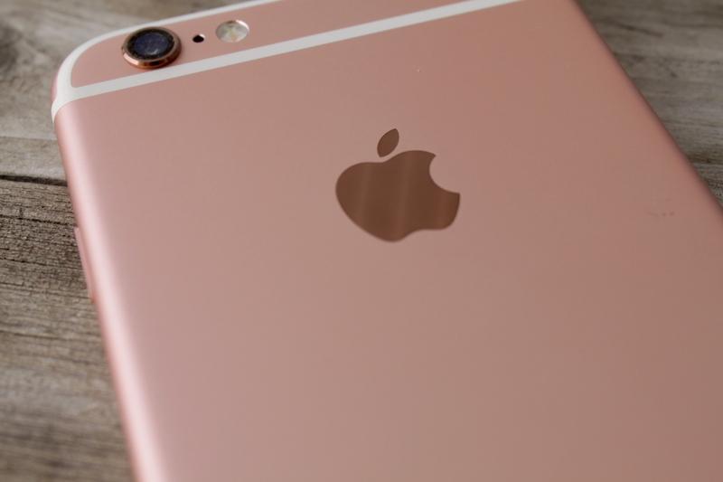 Apple iPhone 6s - muotoilu