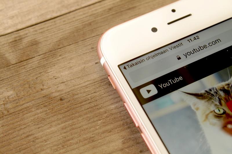 Apple iPhone 6s - siirry edelliseen sovellukseen