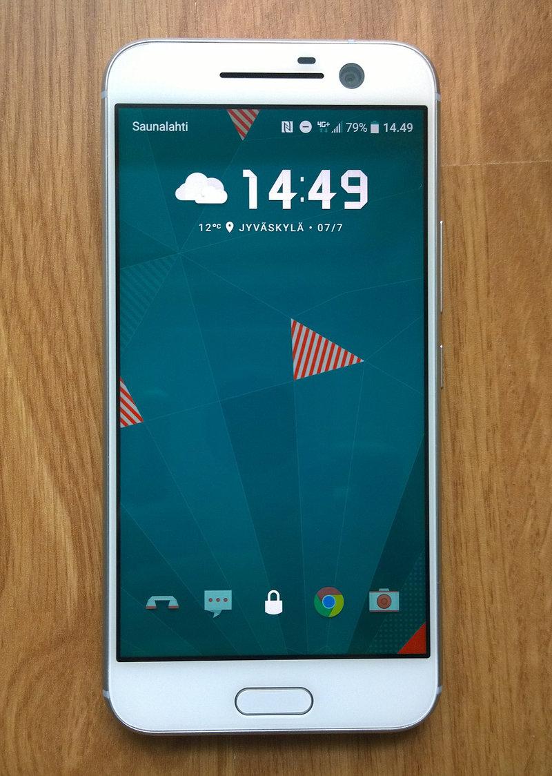 HTC 10 - näyttö