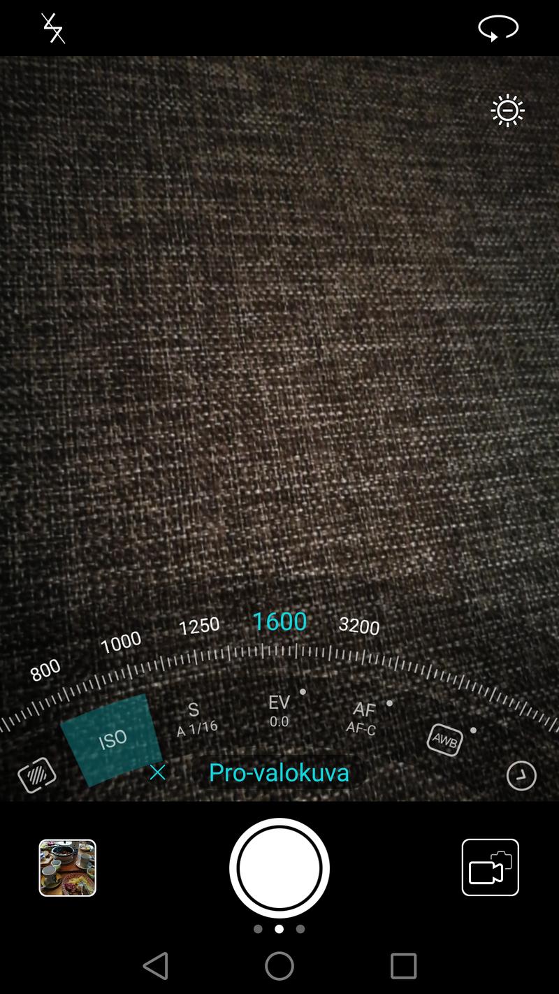 Huawei Honor 8 - kamerasovellus