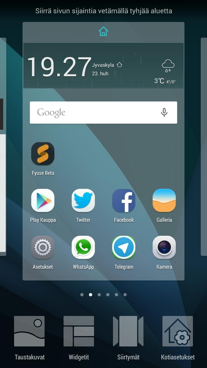 Huawei Honor 4X ohjelmia