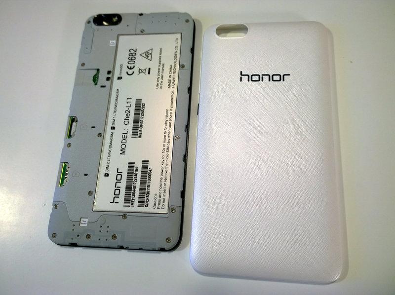 Huawei Honor 4X näyttö