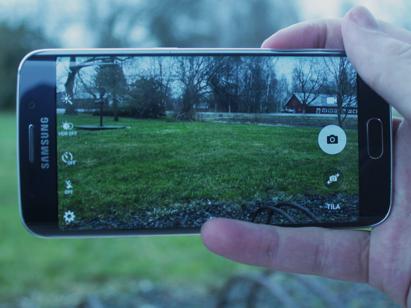 Samsung Galaxy S6 kamerasovellus