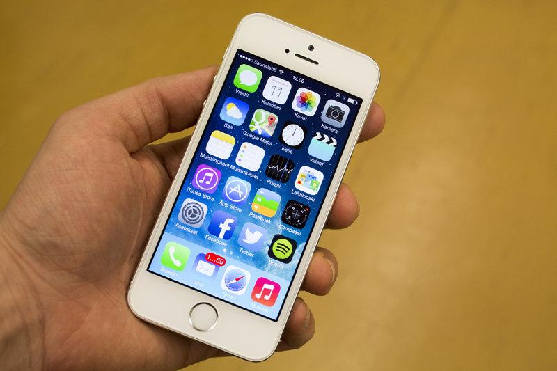 Testissä iPhone 5s