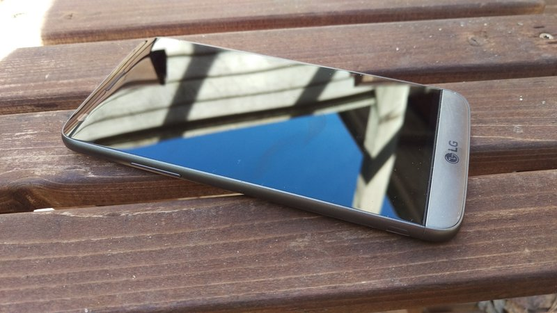 LG G5 - näyttö