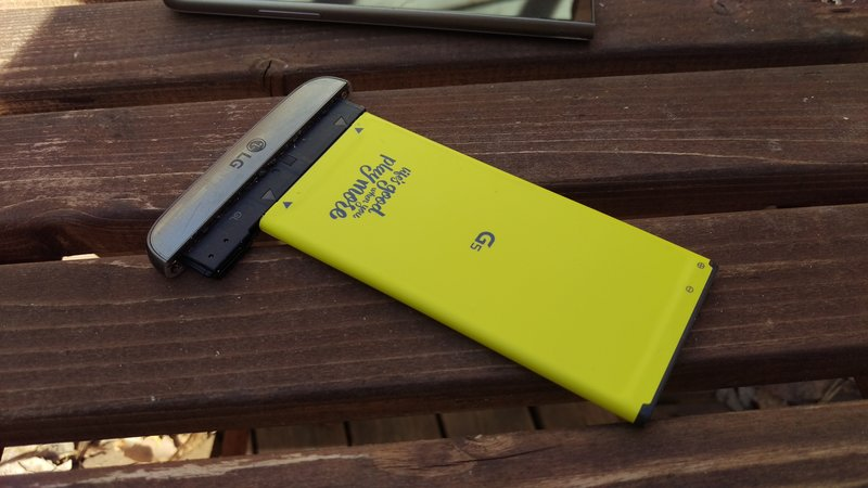 LG G5 - modulaarisuus