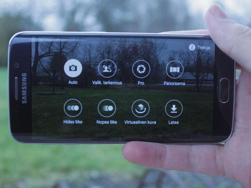 Samsung Galaxy S6 kuvaustilat