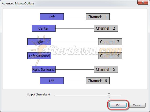 Audacity Advanced Mixing Setings - AfterDawn.com