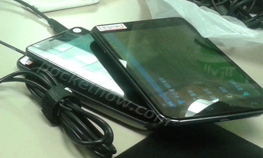 possible US version of the Samsung Galaxy Note with 4 capacitive buttons instead of 2