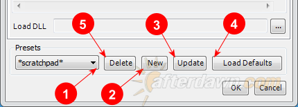 MeGUI AVS Script Creator Profile editing operations - AfterDawn.com