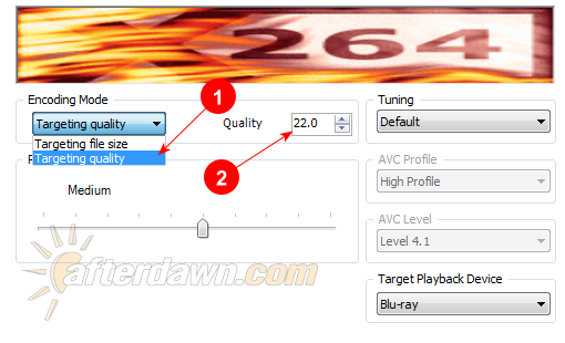 MeGUI x264 settings for quality based encoding - AfterDawn.com