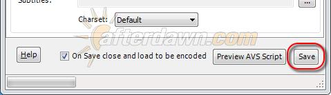 MeGUI AVS Script Creator saving an AVS file - AfterDawn.com