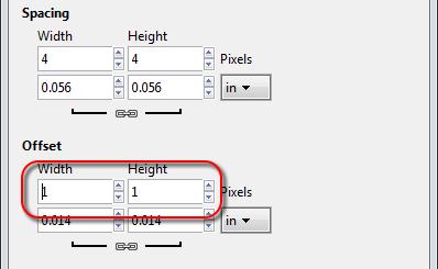 Adjust grid offset in GIMP - AfterDawn.com