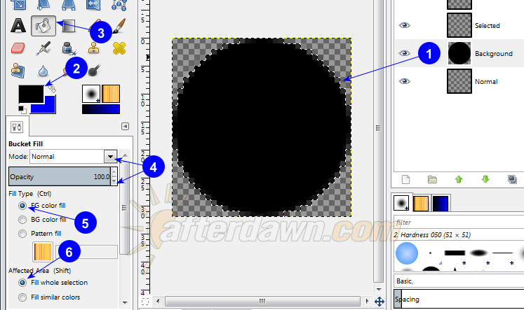 Black button background - AfterDawn.com