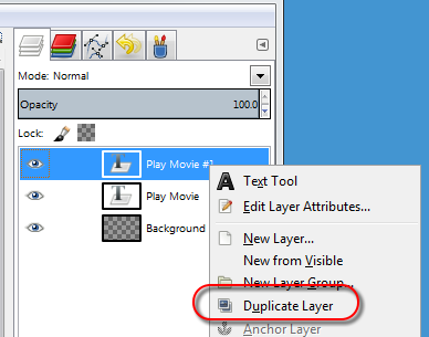 Duplicate text layer in GIMP - AfterDawn.com