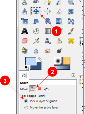 GIMP Move Tool options - AfterDawn.com