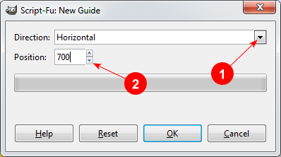 GIMP Add Guide dialog - AfterDawn.com