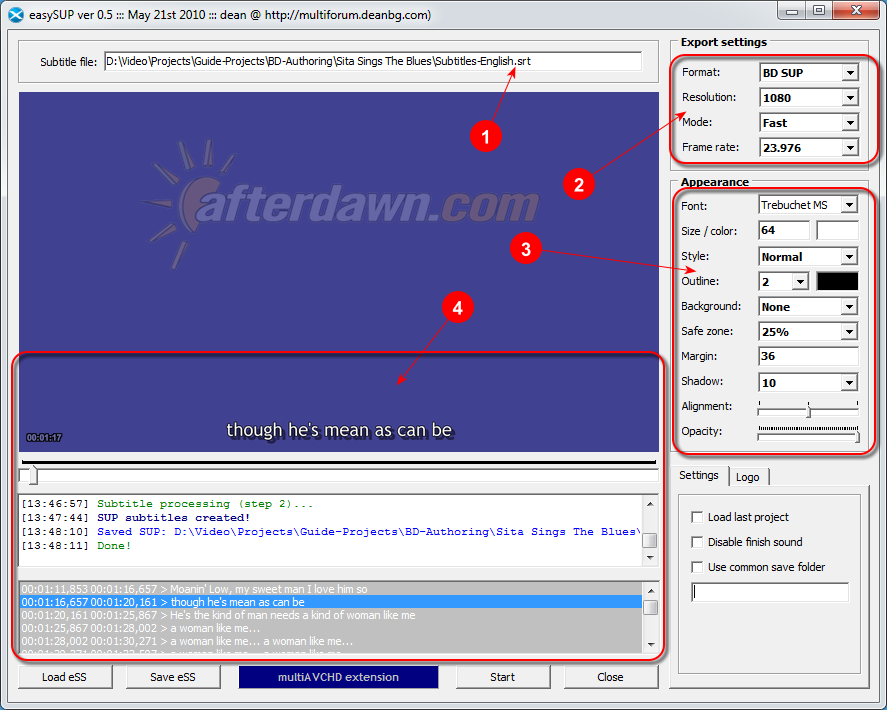 Main interface of easySUP - AfterDawn.com