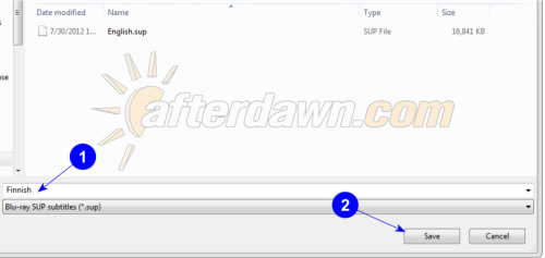 easySUP save dialog - AfterDawn.com